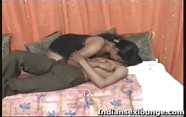 Indian girl with young boy